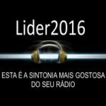 Logo da emissora Rádio Web Líder 2016