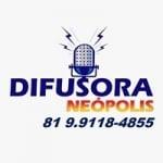 Logo da emissora Rádio Difusora Neópolis Carpina