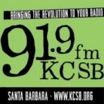 Logo da emissora Radio KCSB 91.9 FM
