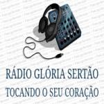 Logo da emissora Rádio Glória Sertão
