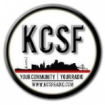 Logo da emissora Radio KCSF 90.9 FM