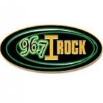Logo da emissora WIHN 96.7 FM I-Rock