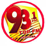 Logo da emissora Rádio 93.1 Top FM