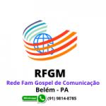 Logo da emissora Rede Fam Gospel de Comunicação