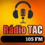 Logo da emissora Rádio TAC 105 FM