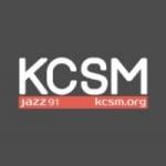 Logo da emissora Radio KCSM 91.1 FM