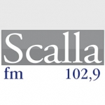 Logo da emissora Scalla 102.9 FM Instrumental