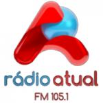 Logo da emissora Rádio Atual 105.1 FM