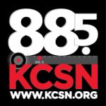 Logo da emissora Radio KCSN 88.5 FM