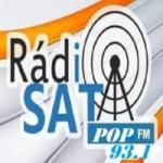 Logo da emissora Rádio Pop Sat FM