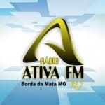 Logo da emissora Rádio Ativa 98.7 FM