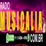 Logo da emissora Rádio Musicalia