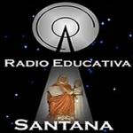 Logo da emissora Rádio Educadora Santana