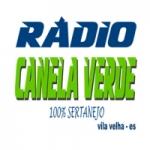 Logo da emissora Rádio Canela Verde