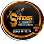 Logo da emissora Web Rádio Sander Promoções GO