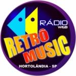 Logo da emissora Rádio Web Retrô Music