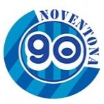 Logo da emissora Rádio Noventona