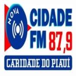 Logo da emissora Rádio Nova Cidade FM