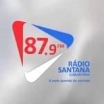 Logo da emissora Rádio Santana 87.9 FM
