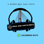 Logo da emissora Rádio Web Hortolândia