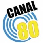 Logo da emissora Canal 80