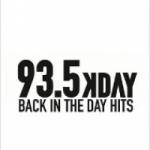 Logo da emissora Radio KDAY 93.5 FM