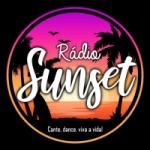 Logo da emissora Rádio Sunset