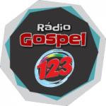Logo da emissora Rádio Gospel 123