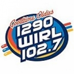 Logo da emissora Radio WIRL 1290 AM 102.7 FM