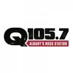 Logo da emissora WQBK 105.7 FM