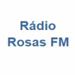 Logo da emissora Rádio Rosas FM