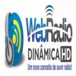 Logo da emissora Rádio Dinâmica HD