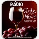 Logo da emissora Rádio Vinho Novo