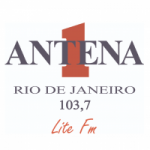 Logo da emissora Rádio Antena 1 Lite FM 103.7
