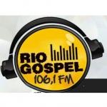 Logo da emissora Rio Gospel 106.1 FM