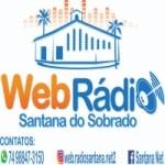 Logo da emissora Web Rádio Santana