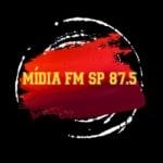 Logo da emissora Rádio Mídia FM SP
