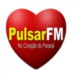 Logo da emissora Rádio Pulsar FM Pitanga Paraná