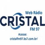 Logo da emissora Web Rádio Cristal FM 97