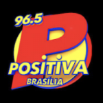 Logo da emissora Rádio Positiva 96.5 FM