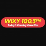 Logo da emissora WIXY 100.3 FM