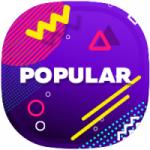 Logo da emissora Rádio Playmix Popular