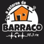 Logo da emissora Rádio Barraco Rap