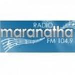 Logo da emissora Rádio Maranatha