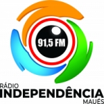 Logo da emissora Rádio Independência 91.5 FM