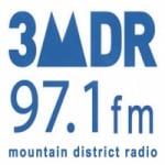 Logo da emissora Radio 3MDR 97.1 FM