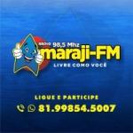 Logo da emissora Rádio Amaraji FM