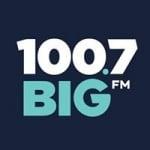 Logo da emissora Radio KFBG 100.7 FM