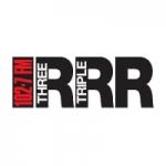 Logo da emissora Radio Triple R 102.7 FM