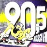 Logo da emissora Rádio Nossa 90.5 FM